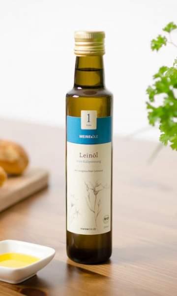 Meineöle Bio Leinöl